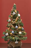 Mini Christmas träd Arkivfoton