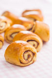 Mini cinnamon buns. Stock Image