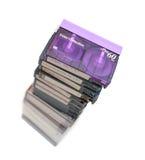 Mini cinta de cinta de video de DV Imágenes de archivo libres de regalías
