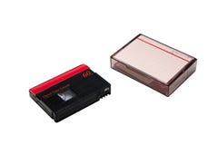 Mini cinta de cinta de video de DV Imagenes de archivo