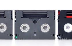 Mini cinta de DV Foto de archivo libre de regalías