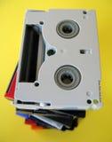 Mini cintas de DV Imagenes de archivo