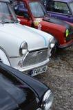 Mini ` classico s dell'automobile al mini evento 2017 di giorno di Brooklands Immagini Stock