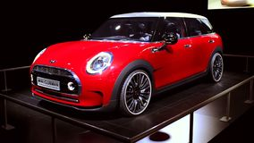 Mini Clubman concept crossover station wagon stock video footage