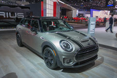 MINI Clubman on display Stock Image