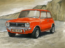 Mini Clubman 1275GT Royalty Free Stock Images