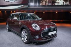 MINI Clubman - world premiere. Royalty Free Stock Image