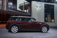MINI Clubman - world premiere. Royalty Free Stock Photo