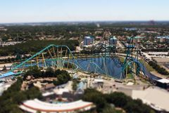 Mini Coaster Stock Image