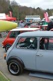 Mini coche clásico en el mini evento 2017 del día de Brooklands Imagenes de archivo