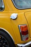 Mini coche clásico en el mini evento 2017 del día de Brooklands Imagen de archivo libre de regalías