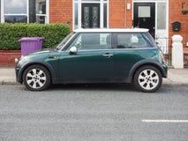 Mini coche en Liverpool Fotos de archivo