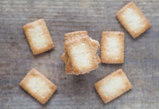 Mini coconut biscuit Royalty Free Stock Image
