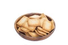 Mini coconut biscuit Stock Photos