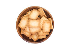 Mini coconut biscuit Stock Photo