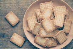 Mini coconut biscuit Stock Images