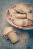 Mini coconut biscuit Royalty Free Stock Images