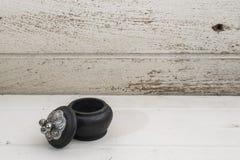 Mini cofanetti fatti a mano di legno Fotografie Stock Libere da Diritti