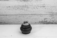 Mini cofanetti fatti a mano di legno Immagini Stock Libere da Diritti