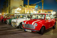 Mini coleção dos carros Fotografia de Stock Royalty Free