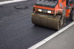 Mini compactor roller 2 Royalty Free Stock Photography