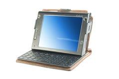 Mini computadora portátil Imágenes de archivo libres de regalías