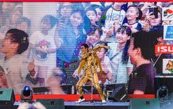 Mini Concert from Daimaou Kosaka Pikotaro. BANGKOK - FEBRUARY 11 : Mini Concert from Daimaou Kosaka Pikotaro at JAPAN EXPO THAILAND 2017 on February 11, 2017 at Royalty Free Stock Photo