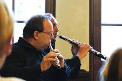 Mini concertos em Praga Imagem de Stock