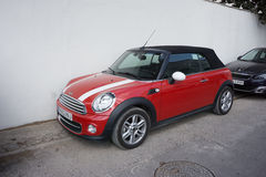 Mini Cooper Photos libres de droits