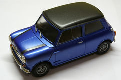 Mini cooper. 1/24 scale plastic model royalty free stock images