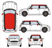 Mini Cooper Immagine Stock