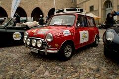 Mini Cooper at Bergamo Historic Grand Prix 2015 Stock Photo