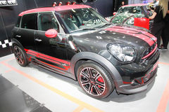 Mini Cooper Black Stock Afbeelding