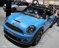 Mini Cooper bleu S Bayswater Image stock