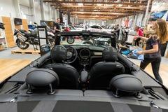 Mini Cooper Cabrio obraz royalty free