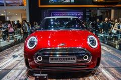 MINI Cooper car shows Stock Photos