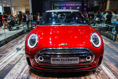 MINI Cooper car shows Royalty Free Stock Image