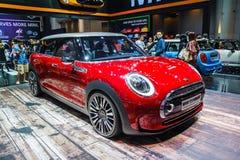 MINI Cooper car shows Stock Images