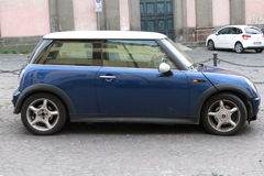 Mini Cooper car (2013 version) Royalty Free Stock Photo