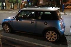 Mini Cooper car (2013 version) Royalty Free Stock Images