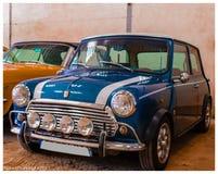 Mini Cooper classic stock image