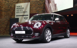 MINI Cooper Clubman at the IAA Cars. 66th International Motor Show, Frankfurt, Germany. September 2015 Stock Photo