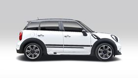 Mini Cooper Countryman imagem de stock royalty free