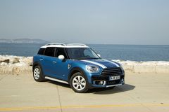 Mini Cooper Countryman stock photography