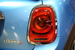Mini Cooper displayed at 3rd edition of MOTO SHOW in Cracow Stock Photography