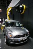 Mini Cooper E at Paris Motor Show Royalty Free Stock Photo