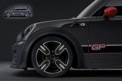 Mini cooper gp Royalty Free Stock Photography
