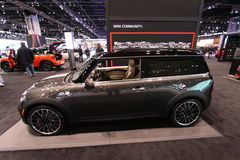 Mini Cooper Hardtop. Chicago auto show February 2011 Royalty Free Stock Images