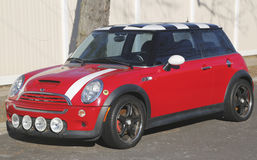 Mini Cooper Hardtop car Stock Photos