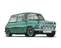 Mini Cooper 35 Royalty Free Stock Images
